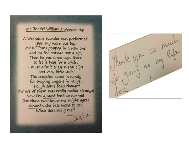 A poem from a grateful patient